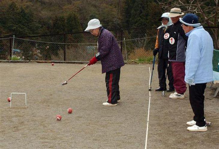シニア世代がゲートボールを行う姿は、格段に減ったという(本文とは関係ありません)