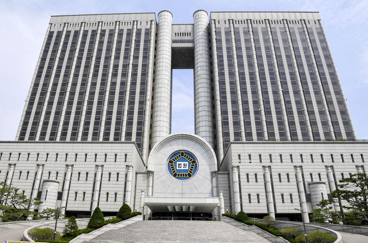 ソウル中央地裁の入る庁舎(共同)
