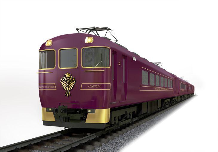 新型観光特急「あをによし」のイメージ(近畿日本鉄道提供)