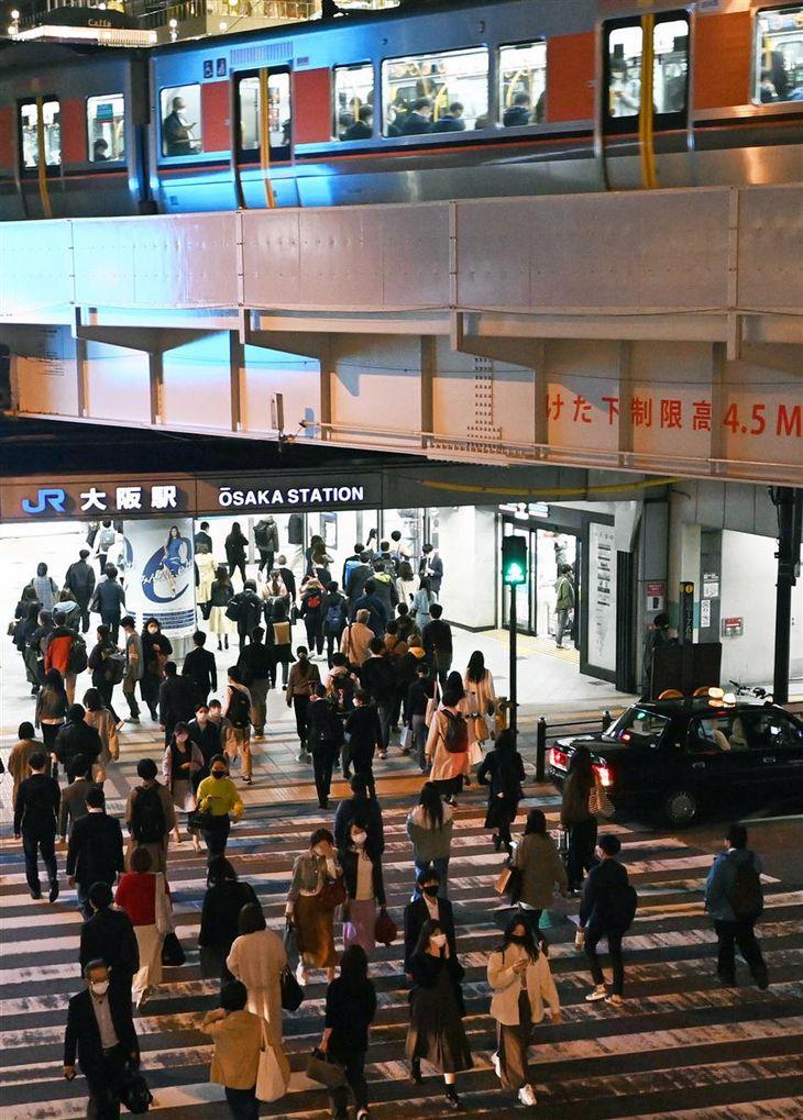 大阪で変異株猛威 若年層に急拡大 病院側は負担増懸念