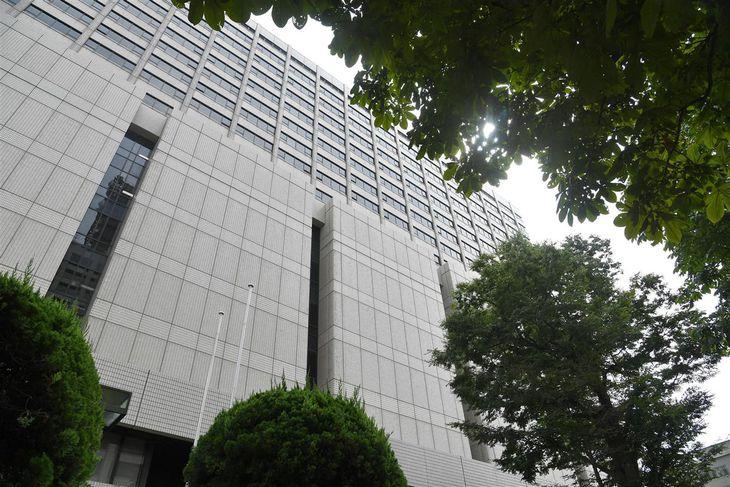 東京高裁が入る建物(今野顕撮影)
