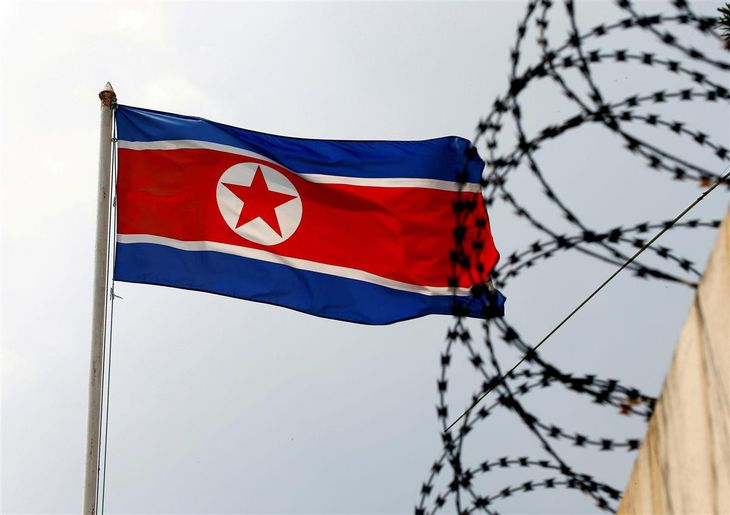 北朝鮮は自民党の総裁選候補を牽制した(ロイター)