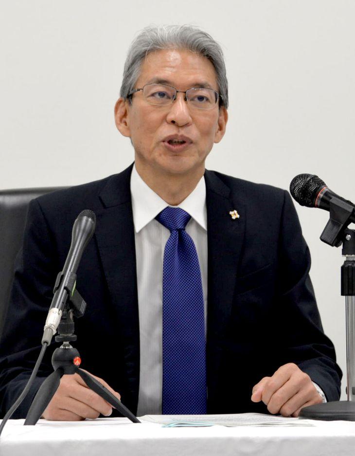 7月16日付で大阪高検検事長に着任した曽木徹也氏=7月21日、大阪市福島区