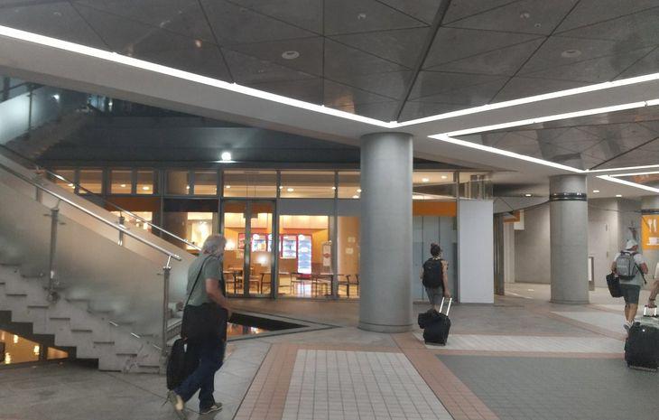 東京五輪のメインプレスセンター(MPC)にある日本食系レストラン=24日、東京都江東区
