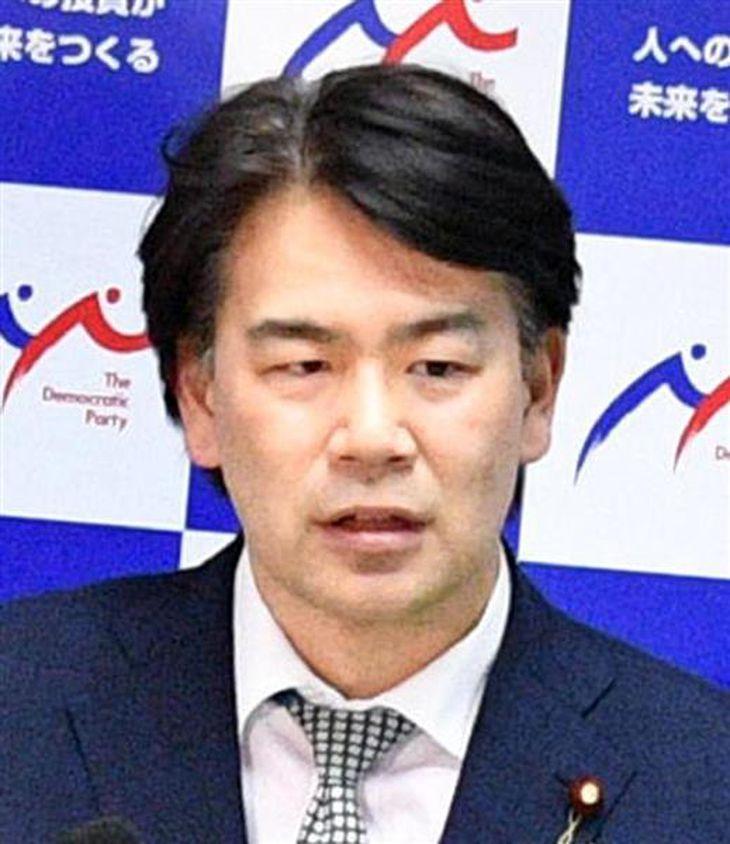 大西健介衆院議員(斎藤良雄撮影)