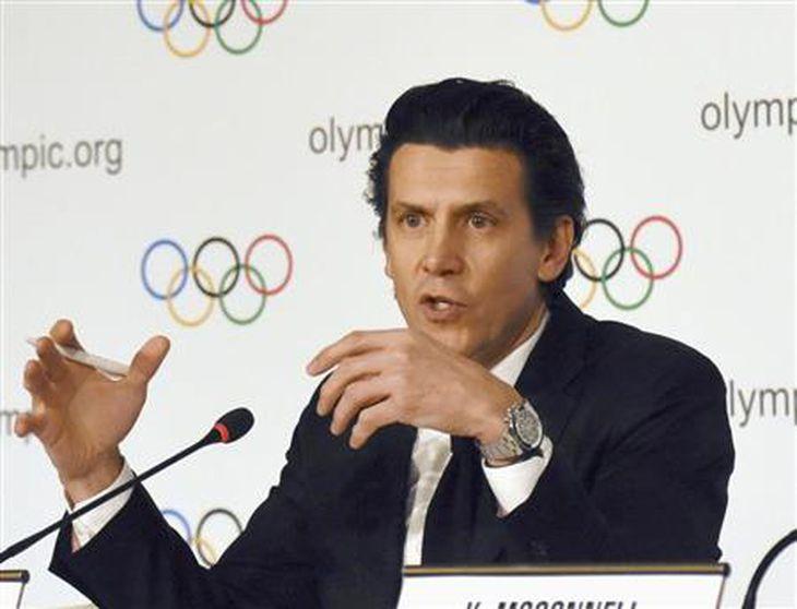 IOCのデュビ五輪統括部長(共同)