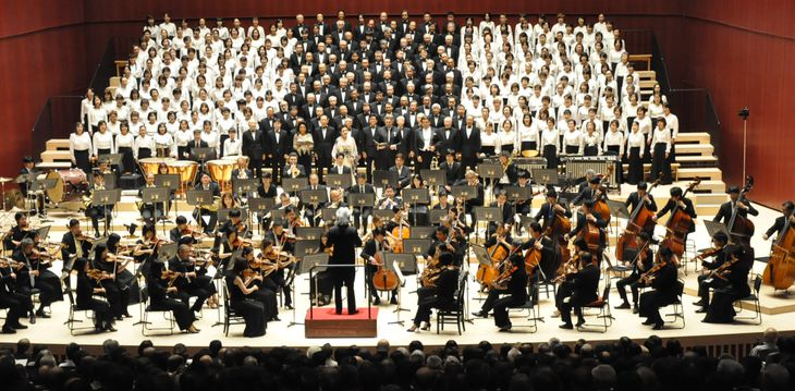 高崎芸術劇場オープンを記念した「第九演奏会」=令和元年9月20日
