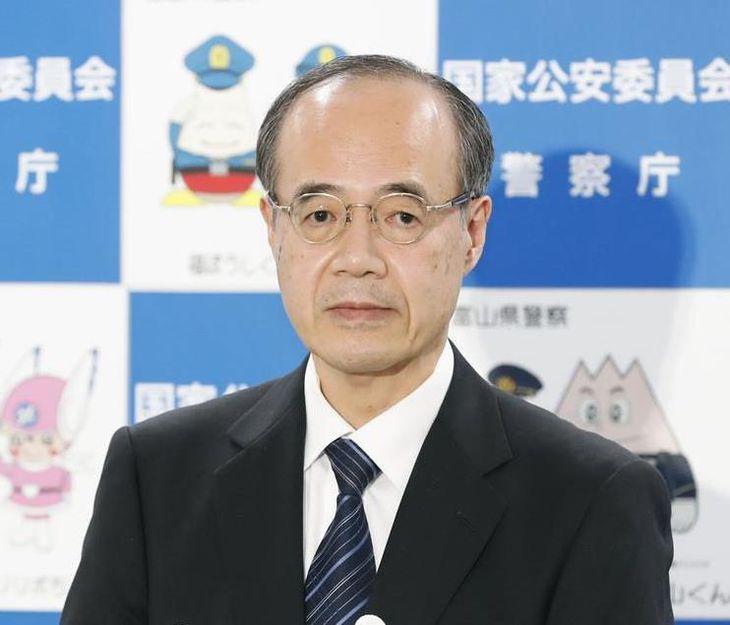 第28代警察庁長官に就任した松本光弘(まつもと・みつひろ)さん