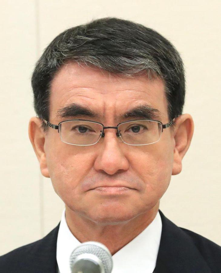 総裁選で激突する河野氏(写真)、岸田氏、高市氏、野田氏
