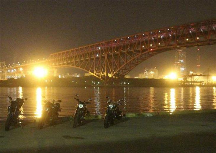安全確保とマナーの問題から閉鎖されることが決まった「ナナガン」=11月28日、大阪市港区海岸通