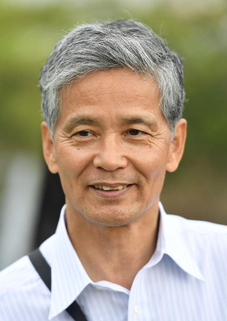 京都大霊長類研究所の松沢哲郎特別教授