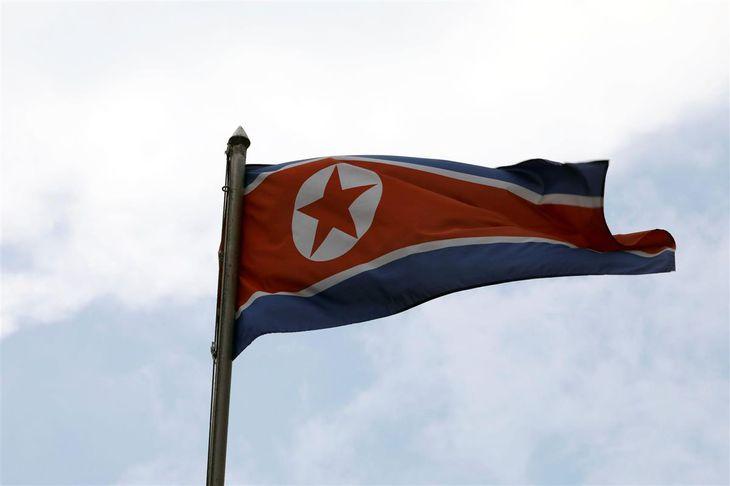 北朝鮮の国旗(ロイター)