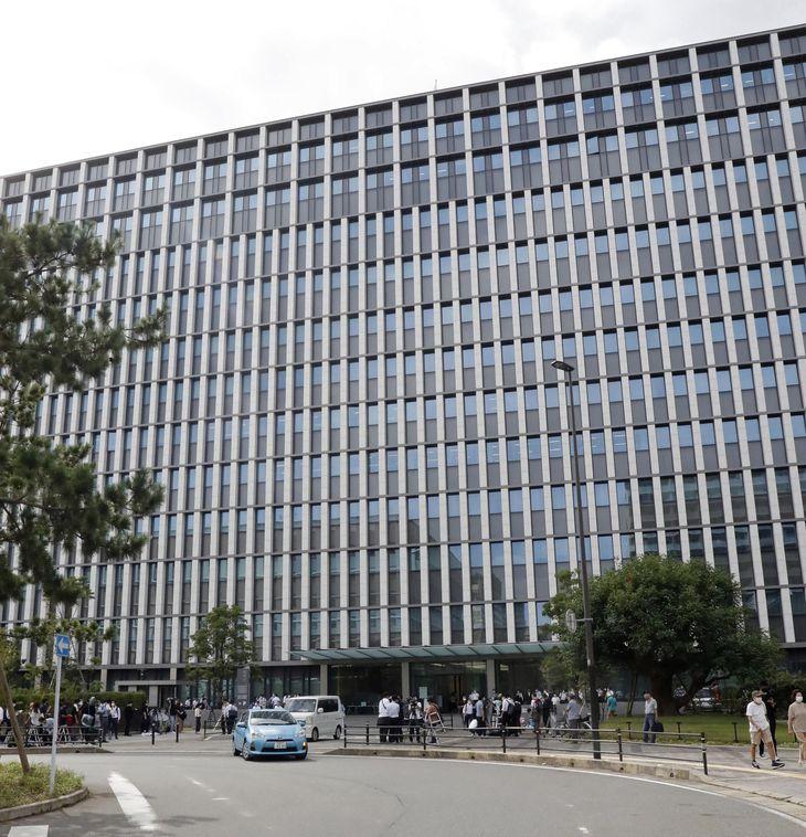 特定危険指定暴力団工藤会トップの野村悟被告らへの判決が言い渡された福岡地裁=8月24日午前