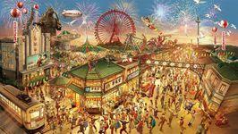 5月19日にリニューアルオープンする西武園ゆうえんちのイメージビジュアル。プレスリリースより
