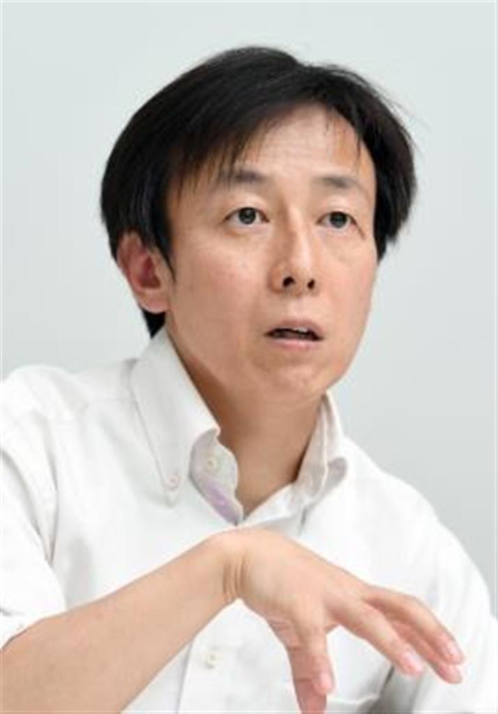 青野社長=平成29年(寺河内美奈撮影)