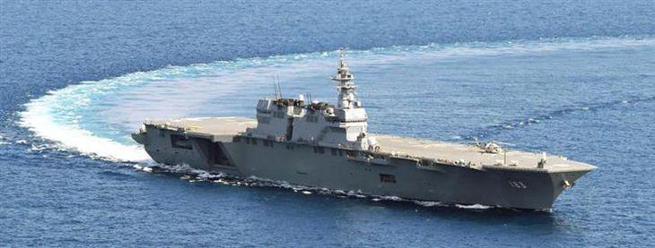 海自最大の護衛艦「いずも」