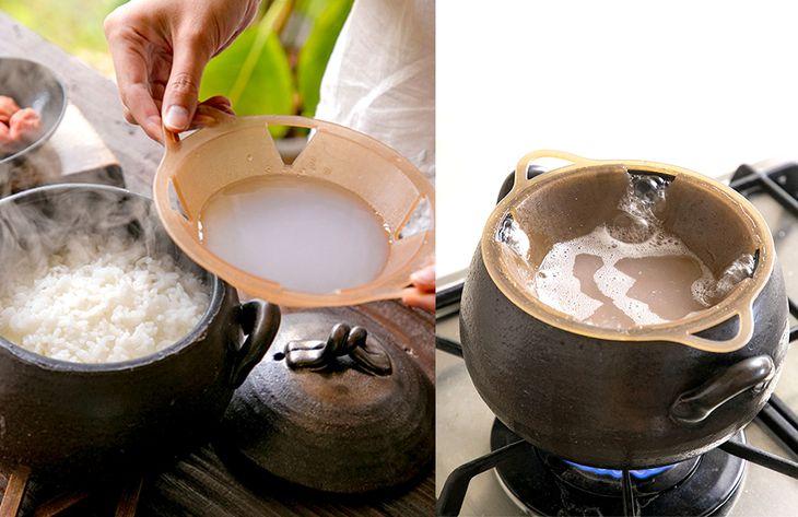 炊飯器にセットするだけで糖質カットできる落とし蓋