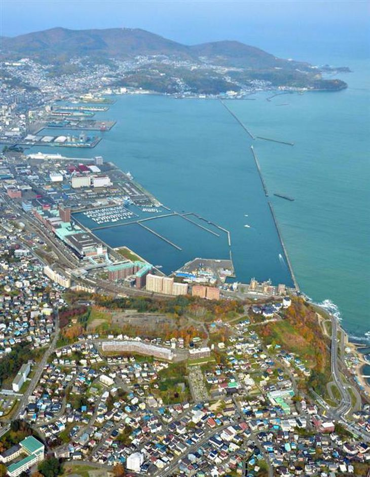 中国資本が不動産を買い漁っている北海道小樽市。樋口中将も高台に住んでいた