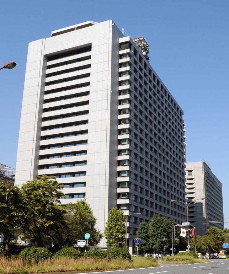 警察庁が入る中央合同庁舎2号館=東京・霞が関