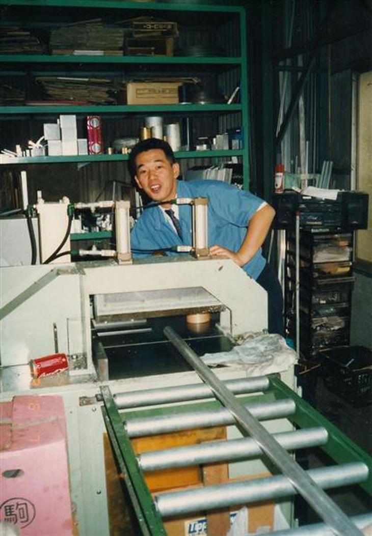 独立して会社を起こしたものの、再びアルバイト生活に逆戻りした =平成4年8月、東京都大田区 (本人提供)