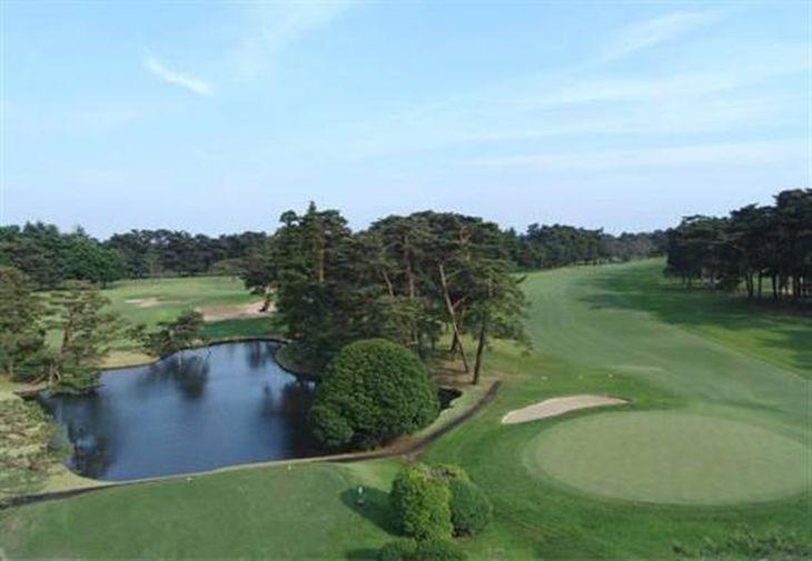 東京五輪でゴルフ競技が実施予定の霞ケ関カンツリー倶楽部(東京五輪組織委員会のホームページから)