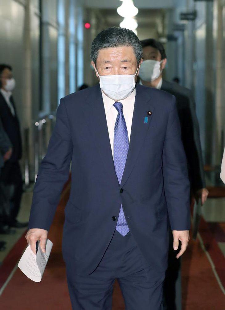自民党・森山裕国対委員長(春名中撮影)