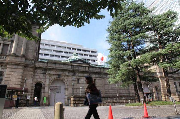 日本銀行本店の外観(早坂洋祐撮影)