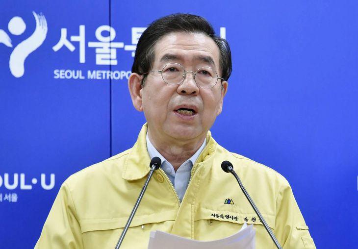 ソウル市長、遺体で発見 セクハラで告訴され自殺か