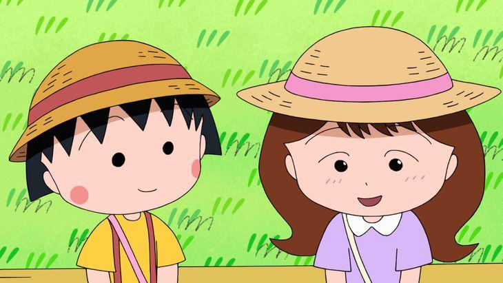 「まる子、町をパトロールする」の1シーン(C)さくらプロダクション/日本アニメーション