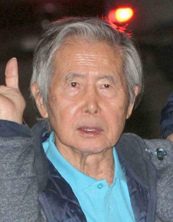 ペルーのフジモリ元大統領(AP=共同)