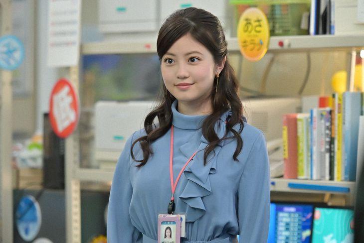 神野マリアンナ莉子役を演じる今田美桜 (C)NHK