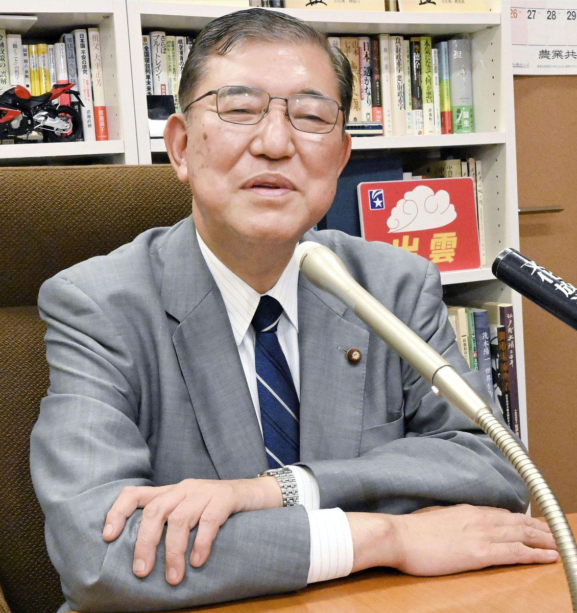 石破元幹事長(代表撮影)
