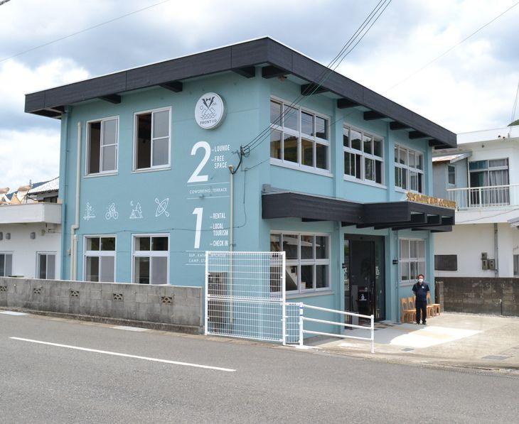 7月1日に業務を始める和歌山県すさみ町の町観光案内所「フロント110」