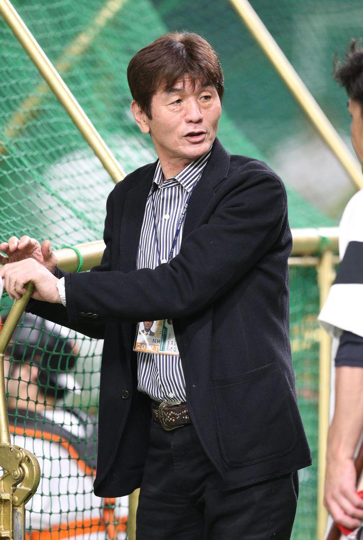 大島康徳氏(撮影・大橋純人)