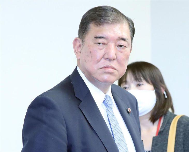 自民党・石破茂元幹事長(春名中撮影)