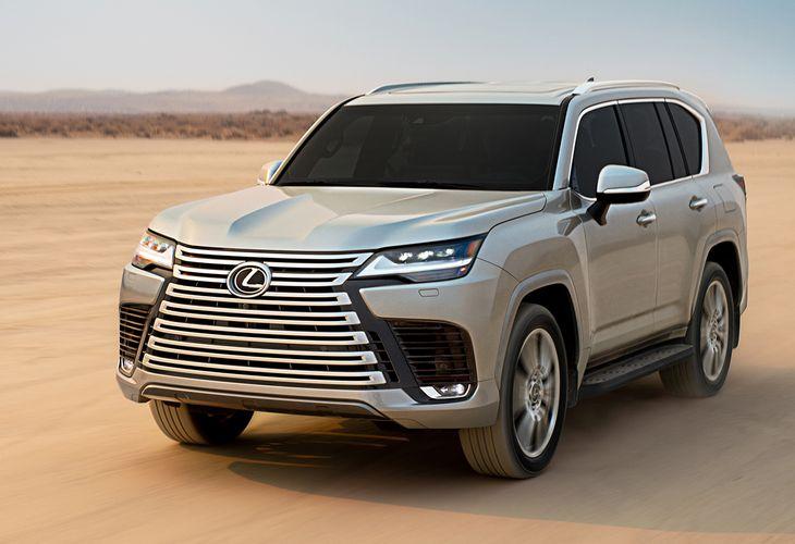 レクサスの最上級SUV「LX」が全面刷新