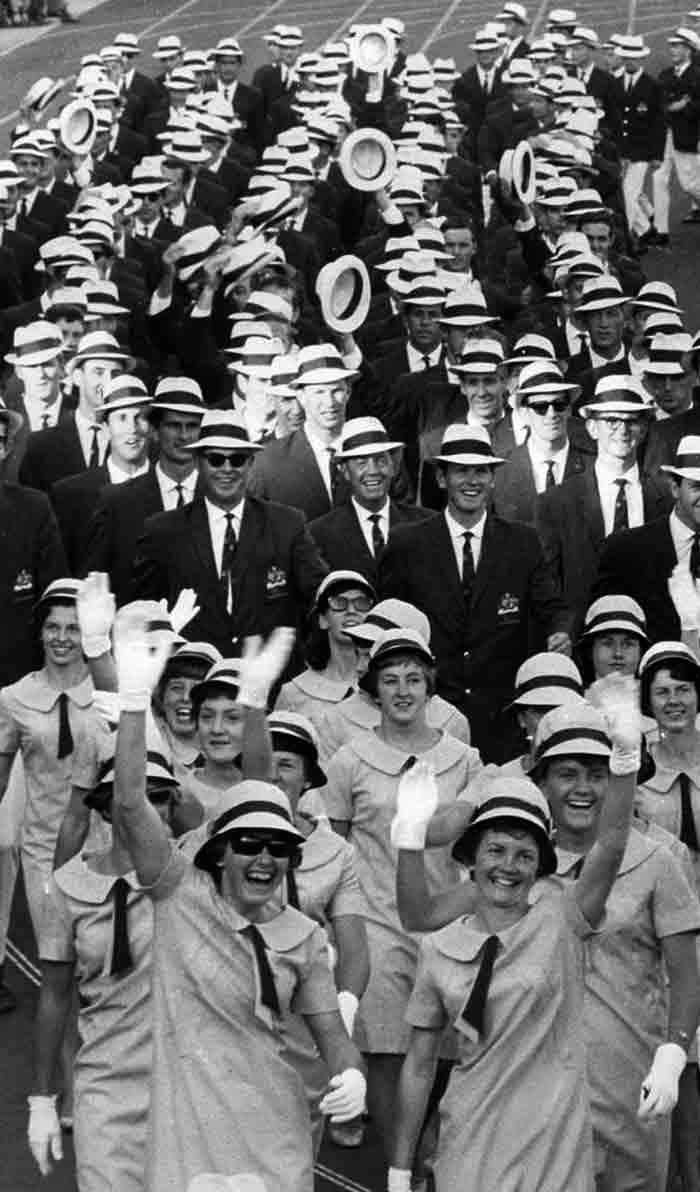 1960年ローマオリンピックのアメ...